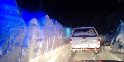 Gli angeli della neve di Rigopiano